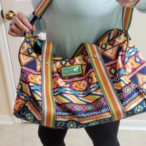 LilyZen by Lily Bloom Aztec Tribal Duffle Bag